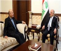 برهم صالح وحيدر العبادي يبحثان التظاهرات والانتخابات العراقية المقبلة