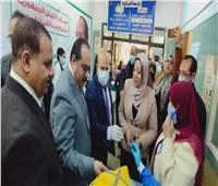 تدشين حملة التطعيم ضد شلل الأطفال بعين شمس