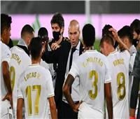 زيدان يعلن قائمة ريال مدريد أمام سوسيداد في «الليجا»