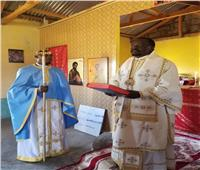الأسقف نيوفيتوس يترأس قداس أحد «الابن الشاطر»