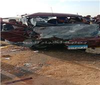 إصابة 11 في حادث تصادم ميكروباص وربع نقل بطريق «السويس- الإسماعيلية»