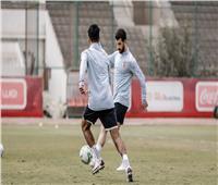 مران الأهلي| «متولي» يشارك في جزء من تدريبات الكرة