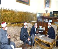 وزير الأوقاف يبحث عددا من الملفات الدعوية والتثقيفية مع محافظ جنوب سيناء