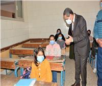 محافظ الغربية: توفير كافة الإجراءات الاحترازية داخل لجان الامتحانات