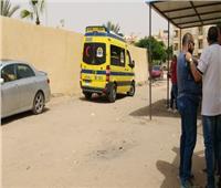 إصابة مدرس صدمته سيارة أثناء ذهابه لمراقبة الامتحانات بالمنيا