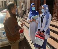 استمرار حملة التطعيم ضد شلل الأطفاللليوم الثانيبدمياط