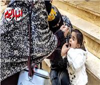 لليوم الثاني.. استمرار الحملة القومية للتطعيم ضد شلل الأطفال بالجيزة