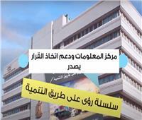 «معلومات الوزراء» يصدر سلسلة «رؤى على طريق التنمية».. فيديو