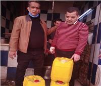 ضبط سلع منتهية الصلاحية في حملة تموينية بالمنيا