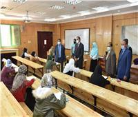 انتظام امتحانات «الترم الأول» بكليتي الزراعة والآداب بجامعة سوهاج