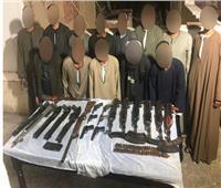 اقتحام أوكار الإجرام.. سقوط 165 متهمًا بأسلحة آلية و273 تاجر مخدرات
