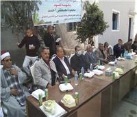 مياه المنيا تكرم العاملين المحالين للمعاش وتمنحهم شهادات تقدير