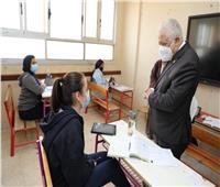 97.53 % نسبة حضور طلاب الصف الخامس الابتدائي في امتحان الفصل الدراسي الأول