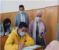 انتظام سير امتحانات الفصل الدراسي الأول بنوعية المنوفيه