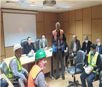 الشيمي: تجديد شهادة التنمية الفنية المستدامة لمحطة مياه شبرا الخيمة