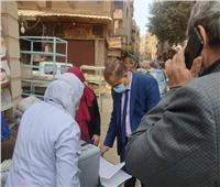 وكيل «صحة القليوبية» يطمئن على وصول تطعيم «شلل الأطفال» للمنازل