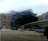 الحماية المدنية تسيطر على حريق بمنطقة صقر قريش