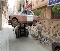 غرامة فورية تنتظر أصحاب السيارات المتهالكة المركونة في شوارع القاهرة