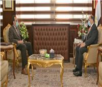 وزير التنمية المحلية يلتقي محافظ شمال سيناء لمتابعة المشروعات التنموية