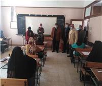 استمرار تأدية الامتحانات بمدارس شمال سيناء