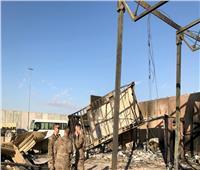 لقطات تعرض للمرة الأولى توثق الضربة الإيرانية لقاعدة عين الأسد العراقية