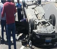 إصابة 5 طلاب في 3 حوادث طرق متفرقة في المنيا