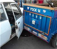 إصابة 4 عمال في حادث تصادم في ديرمواس