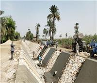 «ري القناطر الخيرية»: الانتهاء 1090 كيلو متر من تبطين الترع.. فيديو