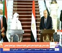 بث مباشر| مؤتمر صحفي لوزير الخارجية ونظيرته السودانية