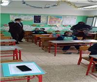 97.7 % نسبة حضور طلاب الصف السادس الإبتدائي بامتحان الترم الأول