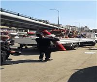 رفع الإشغالات والسيارات المتهالكة بشوارع القاهرة