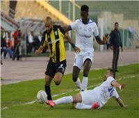 انطلاق مباراة المقاصة والمقاولون في الدوري