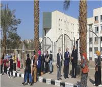 انتظام امتحانات الفصل الدراسي الأول في 20 كلية بجامعة المنيا