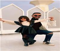 صور| حاتم فهمي يتألق في جلسة تصوير مع ابنته «فيروزة»