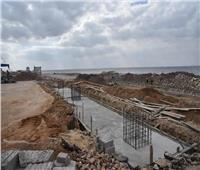 محافظ بورسعيد يوجه بسرعة انتهاء أعمال منفذ الحي الإماراتي
