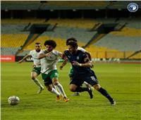 بيراميدز يتقدم على المصري بصاروخية عمر جابر