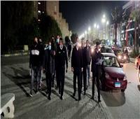 حملة ليلية لإزالة الإشغالات والتعديات بأحياء الإسماعيلية| صور