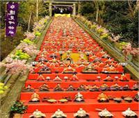 احتفال الخوخ الموسمي لطرد الأرواح الشريرة مهرجان تقليدي في اليابان