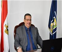 رئيس جامعة القناة يشارك باجتماع المجلس الأعلى لشئون خدمة المجتمع