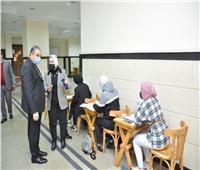 جامعة كفر الشيخ: 22221 طالبا يؤدون امتحانات الفصل الدراسي الأول