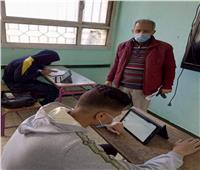 أداء ٦٥٥ ألف طالب ثانوي الامتحانات في الرياضيات واللغة الثانية إلكترونيًا
