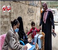 الحملة القومية للتطعيم ضد شلل الأطفال تنتهي اليوم بالجيزة| فيديو وصور|