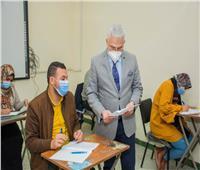 جامعة طنطا: انتظام سير الامتحانات بكلية التمريض وسط إجراءات احترازية مشددة