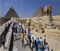 بالأرقام..اعداد السائحين الوافدين إلى مصر في 10 سنوات