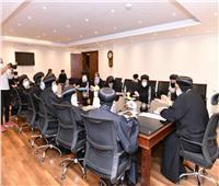 اجتماع اللجنة الدائمة للمجمع المقدس برئاسة «البابا تواضروس»