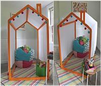 أفكار لعمل ركن مميز للأطفال بالمنزل |صور