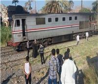 مصرع طالب جامعي بعد سقوطه من القطار في سوهاج
