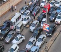 كثافات مرورية متحركة بمحاور وميادين الجيزة