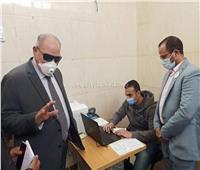 أحمد الزند يتلقى لقاح كورونا في القطامية |خاص بالصور
