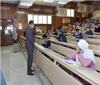 استمرار امتحانات الفصل الدراسي الأول بكلية التمريض في سوهاج